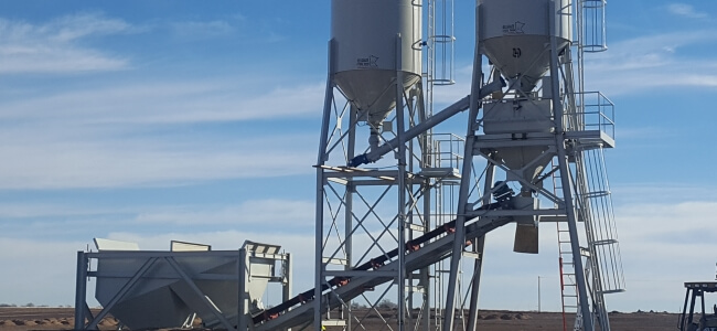 Stationary Dry Ready Mix Concrete Batching Plant Manufacturer