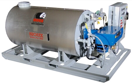 Sioux Hot Water Heater for Concrete Batching Plants